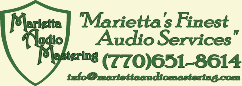 Marietta Audio Mastering -- Marietta's Finest Audio Services